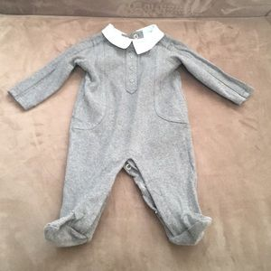 Baby's First Impressions footed cotton PJ